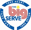 The Big Serve Logo
