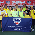 2014 Nationals: Mixed 40 & Over 7.0, 9.0 Champs