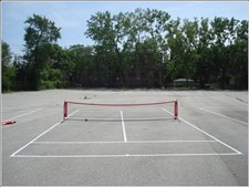 Playground, Blacktop, &amp; Other Flat Surfaces For 36' Tennis Courts
