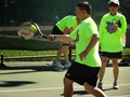 The Tennis Buddies programs provide year-round training opportunities for tennis athletes with developmental and physical disabilities.