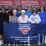 2014 Nationals: Mixed 40 & Over 6.0, 8.0 Champs