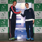 2014 Davis Cup U.S. vs. Great Britain Draw