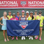 2014 Nationals: USTA League 18 & Over 4.5 Champs