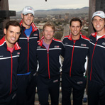 2013 Davis Cup U.S. vs. Serbia Draw Ceremony