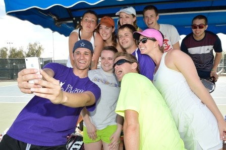 2014 Tennis On Campus: Beating the Heat