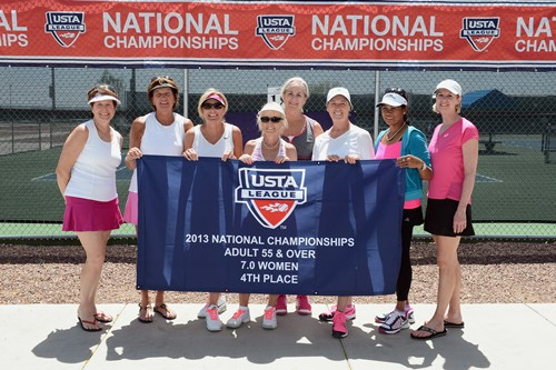 USTA League Adult 55 and Over 7.0 & 9.0 Nationals