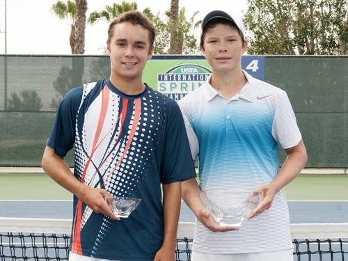 ISC trophy Boys 18 singles 325