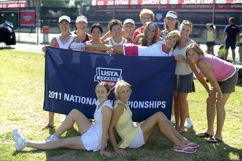 USTA League 4.0 Fun Team Photos