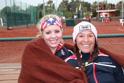 Vicki Buholz, Tracy Houk