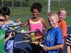 kids with racquets