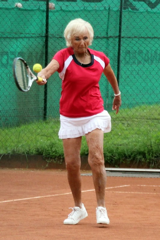 Doris Jane Lutz won two of the 15 titles claimed by the U