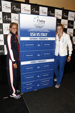 Fed Cup Draw Ceremony
