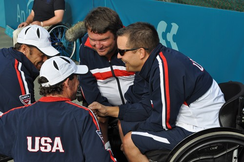 2011 WTC-Quad Huddle