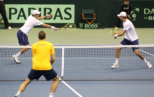 2013 Davis Cup: U.S. vs. Brazil