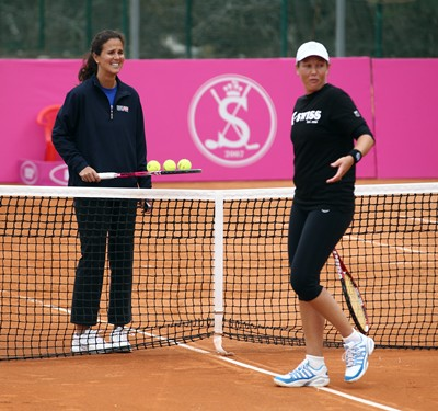 2012 FED CUP USA vs UKRAINE