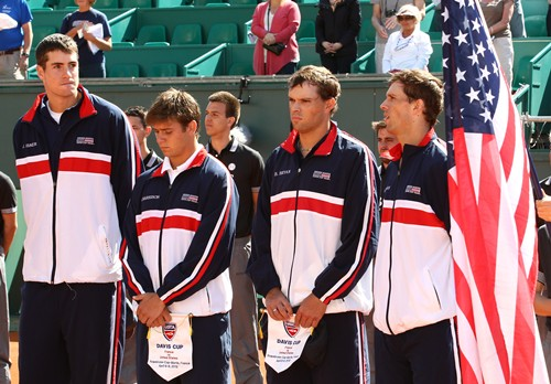 2012 Davis Cup: USA vs. France Day 1