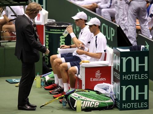 2013 Davis Cup: U.S. vs. Serbia