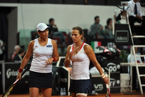 ITALY vs USA 3-22013 Fed Cup by BNP ParibasWorld Group 1st Round, 9-10 February 2013
