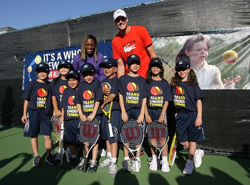 Indian Wells 10 and Under Tennis Demo