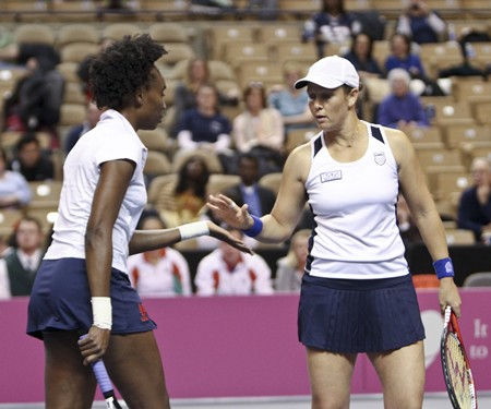 Venus Williams and Liezel Huber