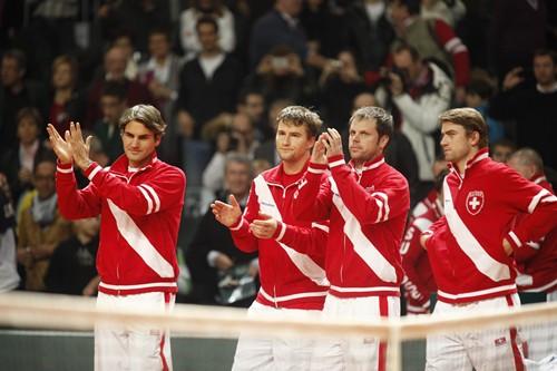 2012 Davis Cup - USA vs. Switzerland Day 3