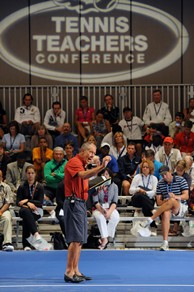 "Bollettieri's message: ""I believe 10 and Under Tennis will keep kids in the sport."""