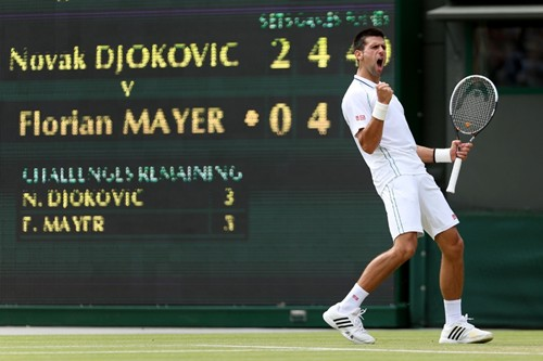 2012 Wimbledon: Day 10