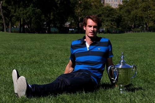 2012 US Open Champion Andy Murray - New York City Trophy Tour