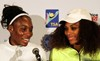 Serena and Venus Williams Breaking the mould project press conference