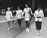 FILE PHOTO: US Tennis Player Margaret DuPont Dies At 94 Wightman Cup