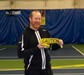 Kevin Heim Directs 10 and Under Tennis Training