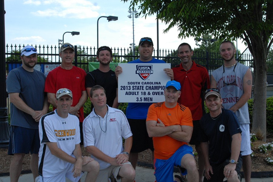 Adult 18 amp over league state championships winners usta south