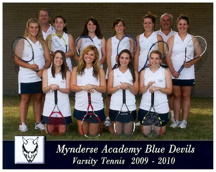 Mynderse Academy Tennis Team