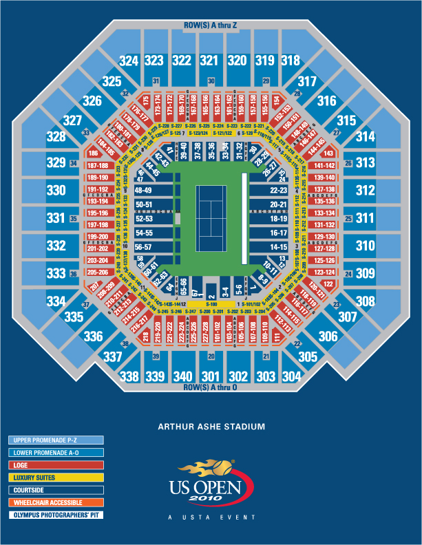 SPG Moments US Open Tennis Championships - Us open tennis parking map