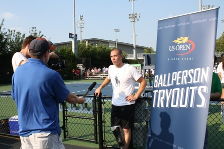 2012 US Open Ballperson Tryouts