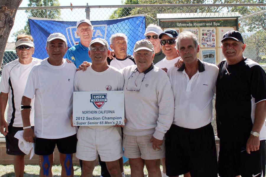M3.5 Champions: Walnut Creek Racquet Club, Captain Gerry Brown