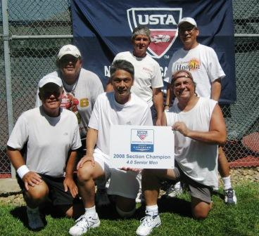Eight Teams Capture Crowns At 2008 Usta Senior League Section Championship And Advance To