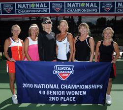 4.0 Senior Women's team from Savannah, Ga.