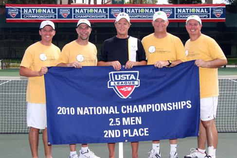 2010 Mandeville, La. men's 2.5 team
