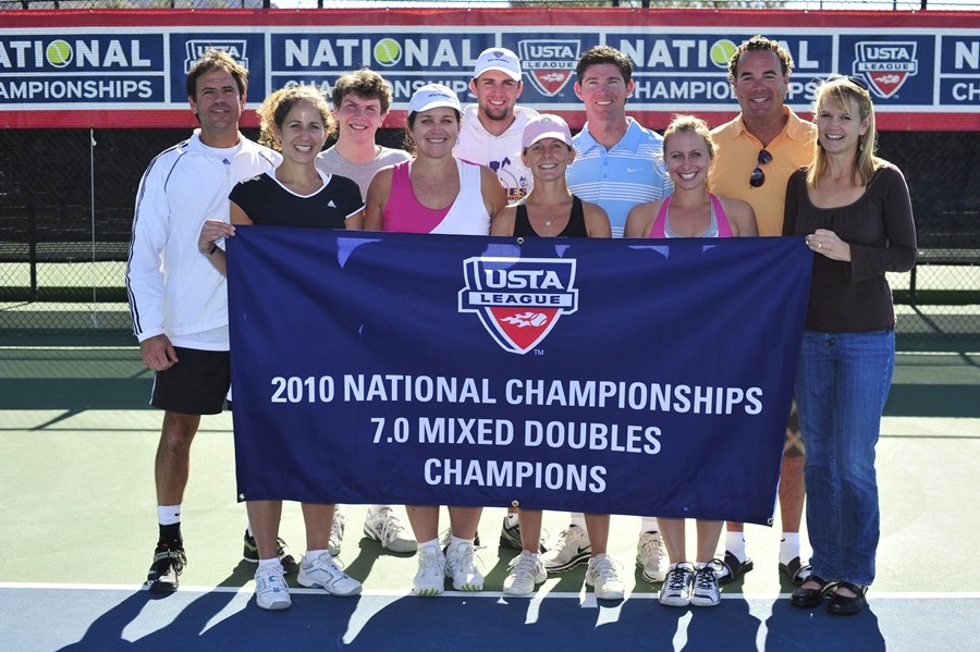 "2010 USTA League 7.0 Adult Mixed Doubles National Champions â€"" Southern - From Memphis, Tenn."