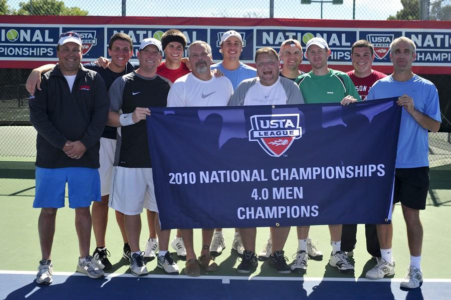 2010 USTA League Champion 4.0 Men's, Huntsville, AL