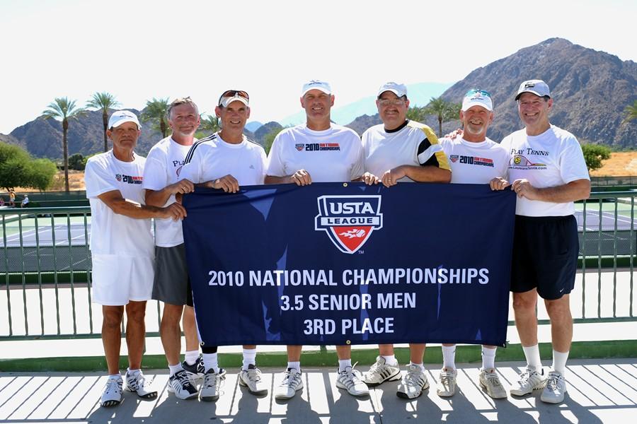 2010 Lafayette, La. 3.5 senior men's team