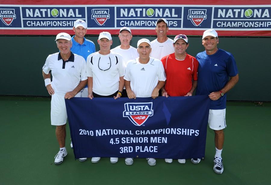 2010 League Championship Sr. Men 4.5 3rd Hilton Head Island, SC