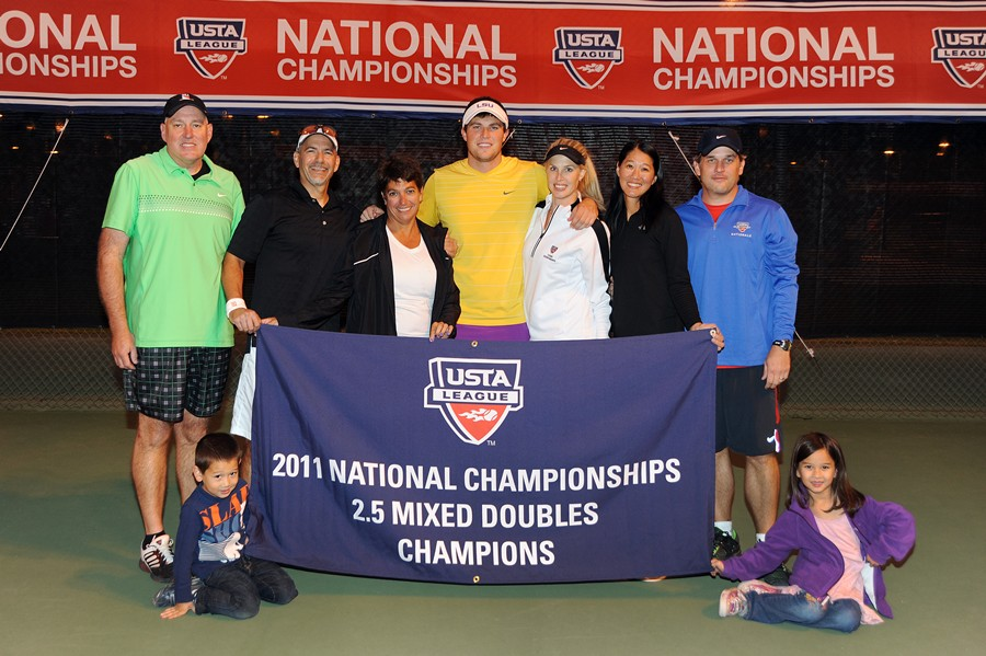 USTA Southern Wins Two Mixed Doubles National ...