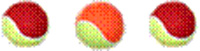 red_and_orange_tennis_balls