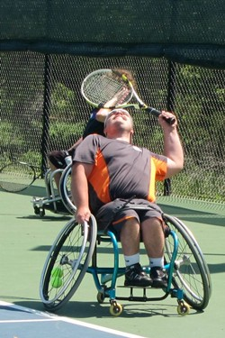 2012 USTA Texas Run/Roll Series at the Tennis Club at Berry Creek on Saturday, March 31.