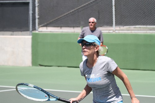 Photos from Day 1 of the USTA League Senior Mixed Invitational in San Antonio, Texas.