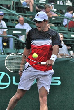 2012 US Men's Clay Courts Championships in Houston, Texas - River Oaks Country Club, April 12.