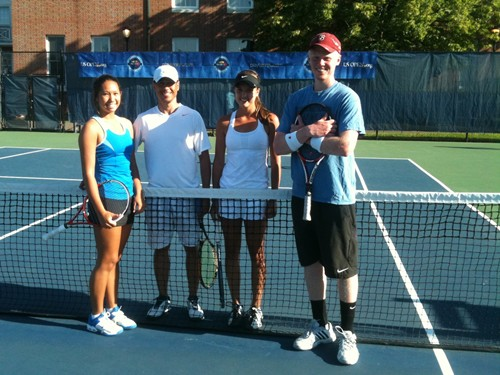 2012.06_USONP_Mixed_Doubles_winners_Meghan_Kelly_Falmouth_ME___Daniel_Quiceno_Beverly_MA_in_middle,_finalists_Ashley_Noyes_Marblehead_MA___Nolan_Paige_Fairfield_CT
