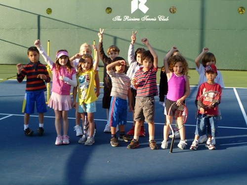 "The ""Terrible Tornados"" won the 8 & Under QuickStart Tennis event at the Riviera Tennis Club"